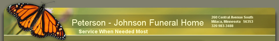 Peterson - Johnson Funeral Home